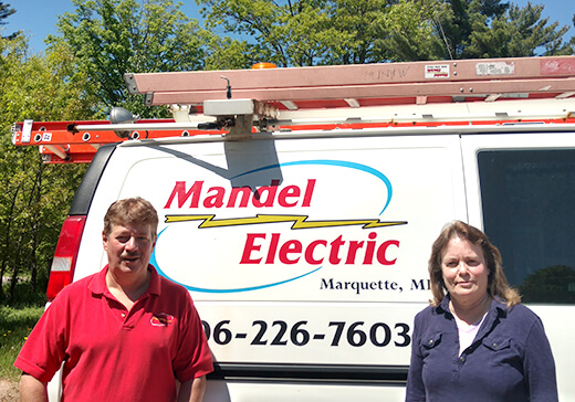 Will and Eileen Mandel of Mandel Electric